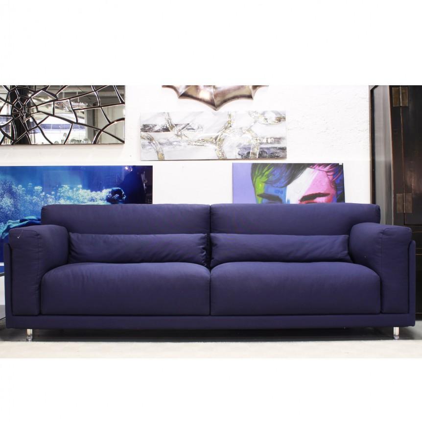 Divani poltrone pouff shop outlet arredamento design - Divano letto blu ...