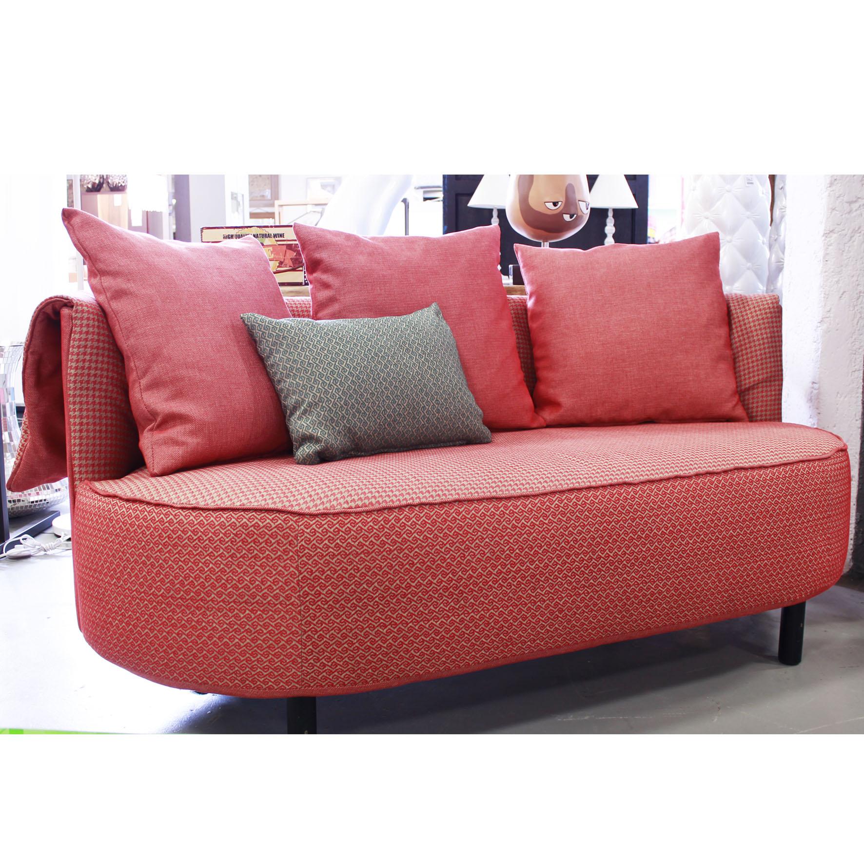 Divano vintage british tessuto piccolo outlet arredo design - Piccolo divano imbottito ...