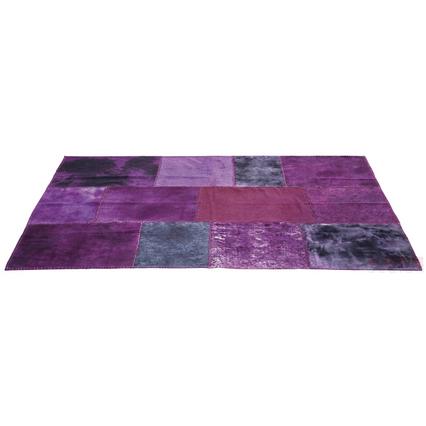 31855 tappeto patchwork viola kare design outlet arredo design brescia vescovato