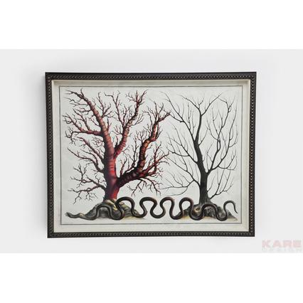 35808 quadro coral collection i kare design outlet arredo design brescia vescovato
