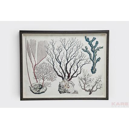 Quadro coral collection ii outlet arredo design - Kare design outlet ...