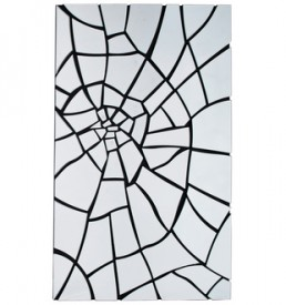 78196 specchio rete del ragno kare design outlet arredo design brescia vescovato