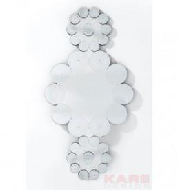 79005 specchio fiori di ghiaccio kare design outlet arredo design brescia vescovato