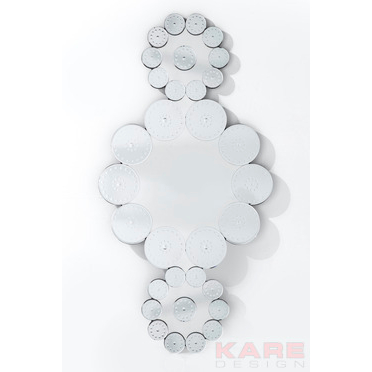 Specchio fiori di ghiaccio outlet arredo design for Outlet arredo design brescia bs