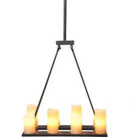 LAMPADA SOSPENSIONE RETRO FERRO NERA