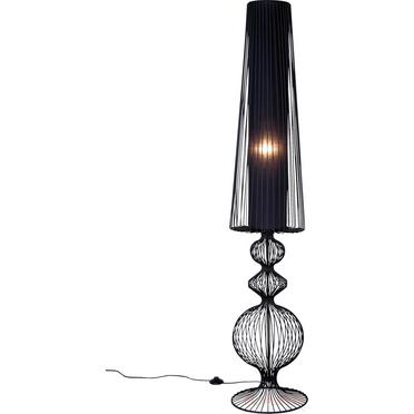 LAMPADA TERRA CONTEMPORANEA METALLO NERA - Outlet Arredo Design