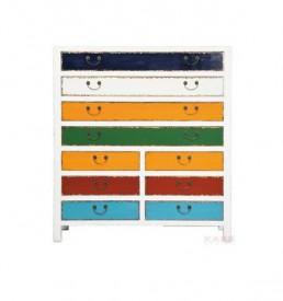 cassettiera harlekin kare design outlet arredo design brescia vescovato