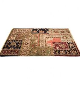 30559 tappeto persiano patchwork kare design outlet arredo design brescia vescovato