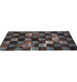 37487 tappeto quadri blue kare design outlet arredo design brescia vescovato