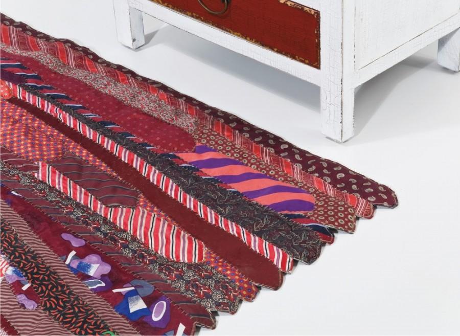 Tappeto cravatte patch outlet arredo design - Kare design outlet ...