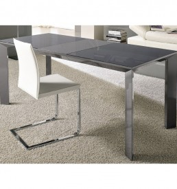 tavolo prisma grigio stones outlet arredo design brescia vescovato
