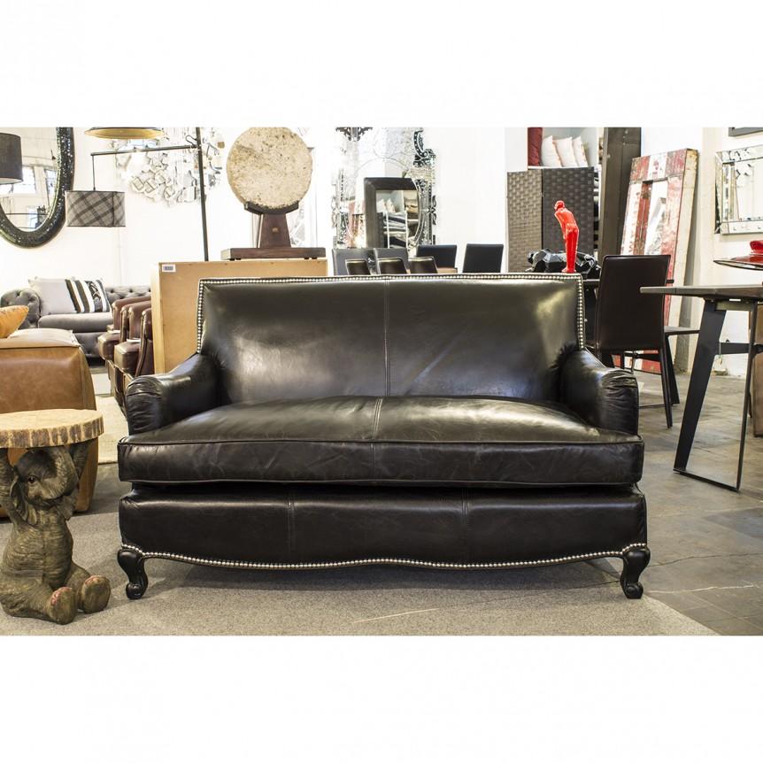 Divano pelle classico divani in pelle made italy dallava - Pulire pelle divano ...