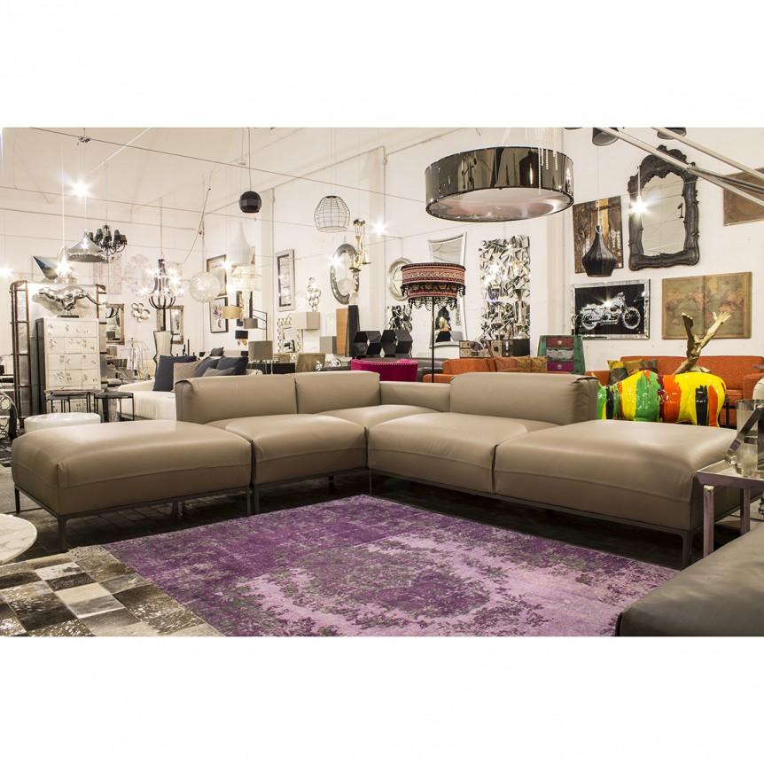 Divano angolare moderno idee per il design della casa - Divano angolare grigio ...