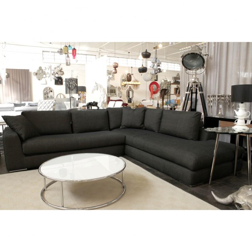 Divano tessuto nero idee per il design della casa - Tessuto per divano ...