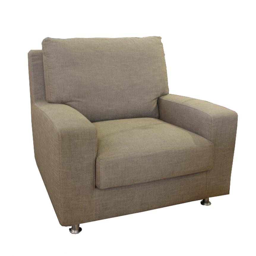 Poltrona moderna confort tessuto corda - Poltrona moderna design ...