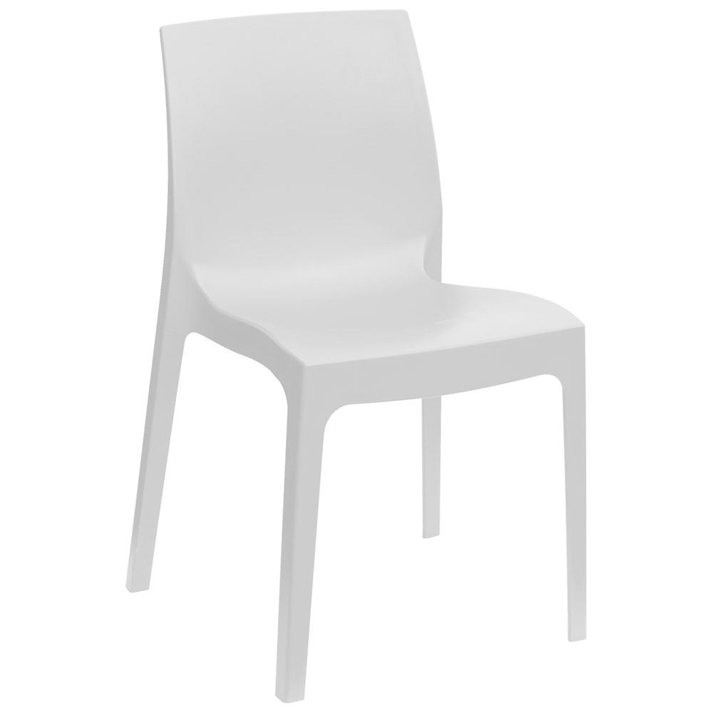 Proto sedia polipropilene bianca for Sedia design bianca