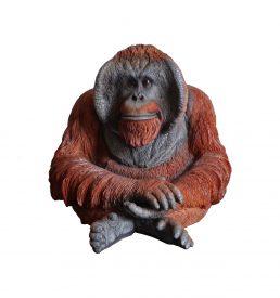 figura decorativa resina orango