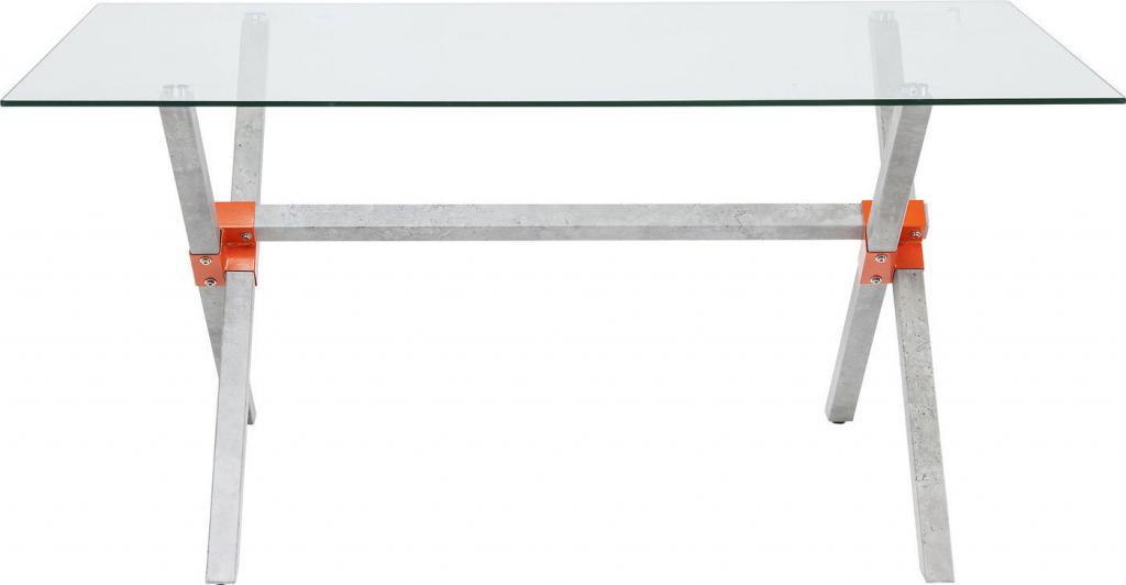 Tavolo rettangolare bel air outlet arredo design for Tavolo design outlet