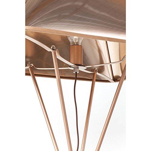 Lampada terra orlando in rame outlet arredo design for Outlet arredo design brescia bs